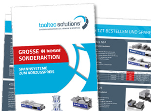 Aktionsflyer für tooltec solutions