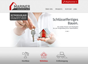 websiterelaunch mariner-bau.de